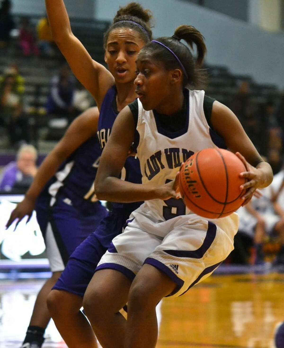 Humble's girls basketball team is at Crosby Wednesday evening and hosts C.E. King on Saturday.