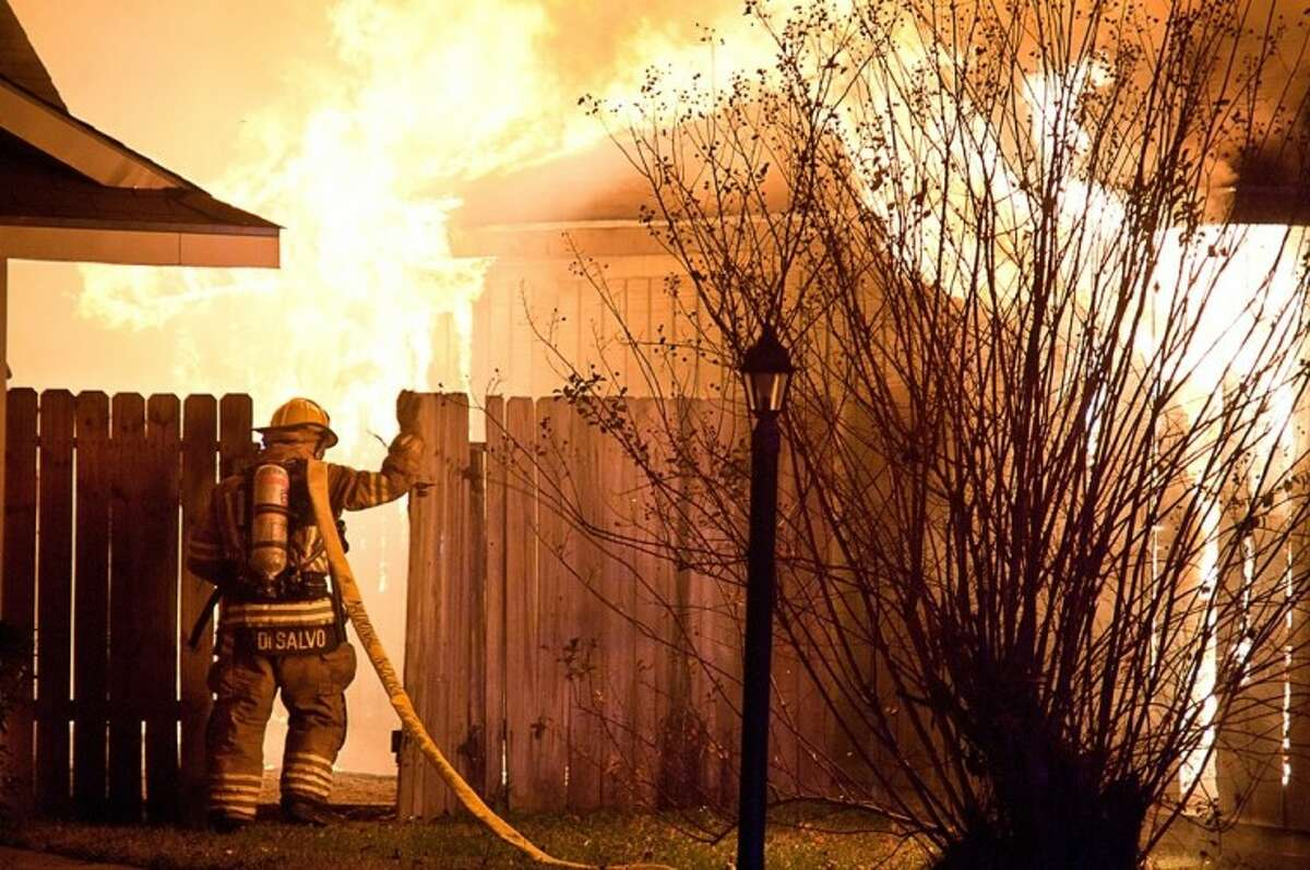 The Spring Volunteer Fire Department has fought 12 fires between Thanksgiving and New Year's Day.
