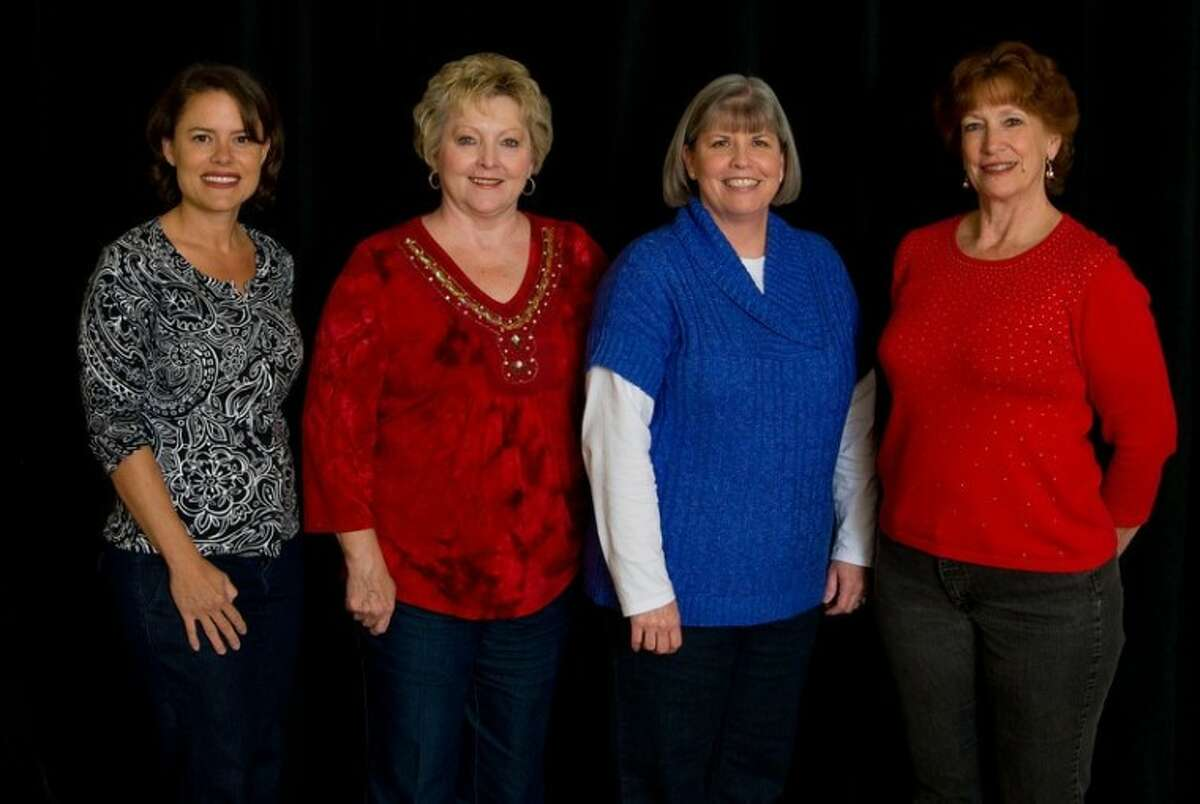 From left, Wendy Anaya, academic literacy coach; Janice Wiederhold, principal; Kathy Kirk, academic math coach; and Cindy Hunt, assistant principal, attended the TBEC Honor Roll ceremony in Dallas in December to accept the award for the school.
