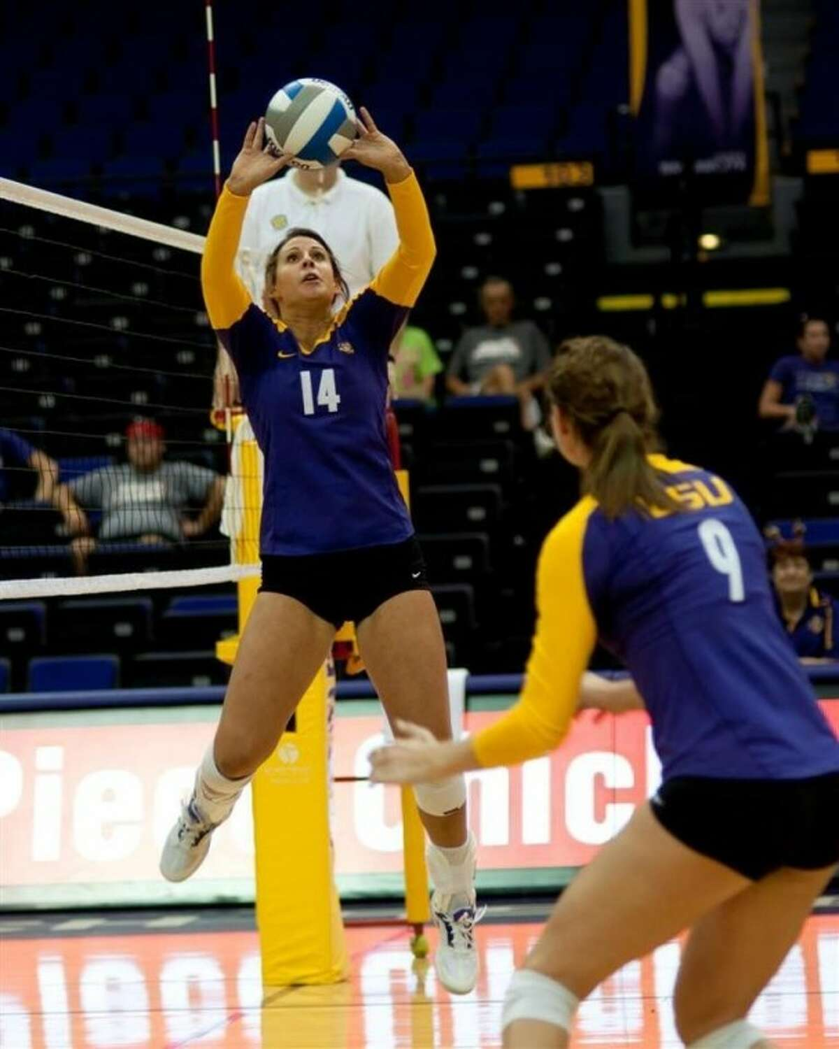 Malorie Pardo led LSU with 1,230 assists and made the all-SEC Freshman team this past year.