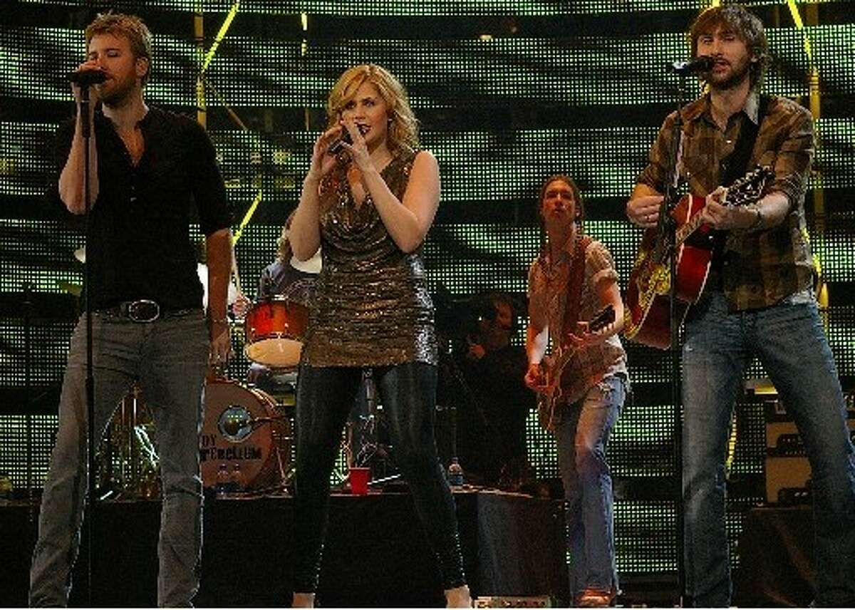 Lady Antebellum is one of the headlining acts announced Monday for the 2012 lineup of performers at the Houston Livestock Show & Rodeo.