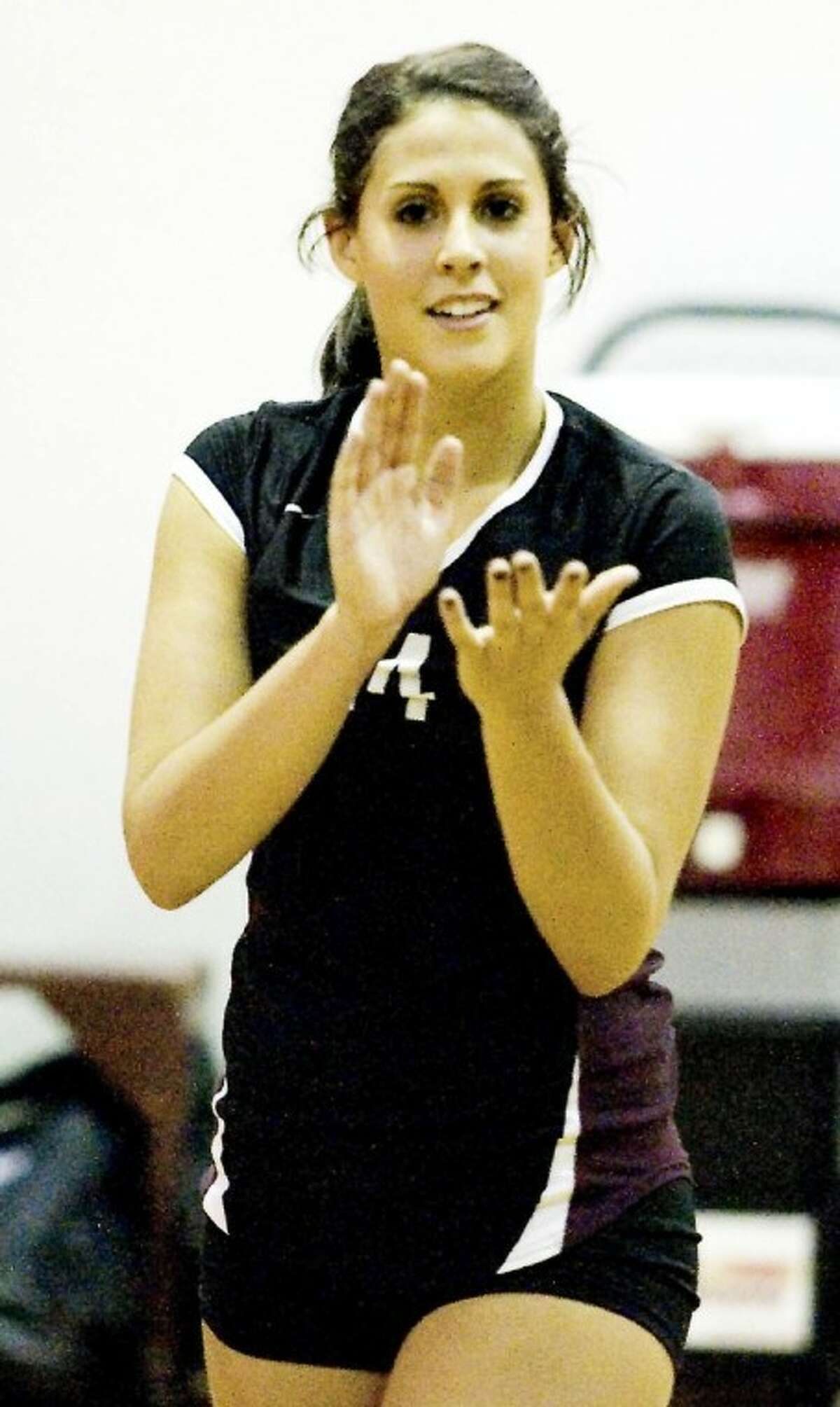 Malorie Pardo of Pearland High School will compete Feb. 5 in the GHVCA all-star game at PHS.