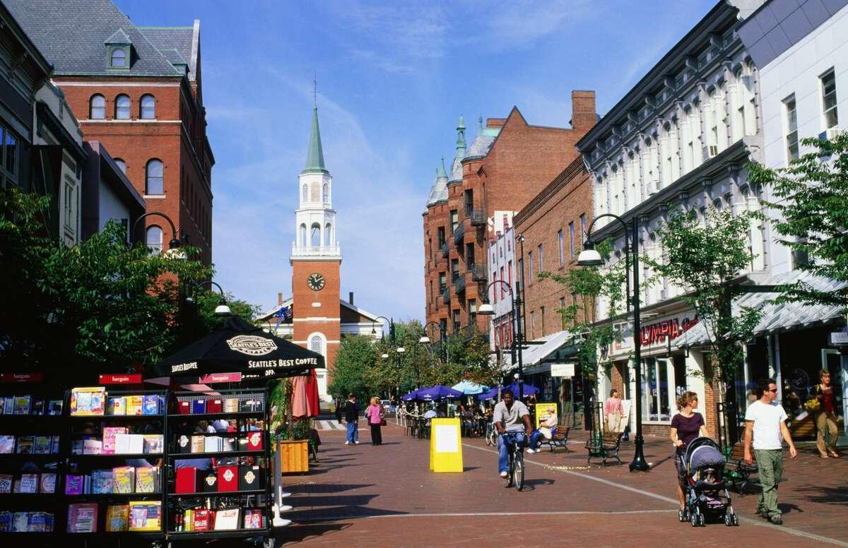 Burlington, Vermont UNEMPLOYMENT: 1.5