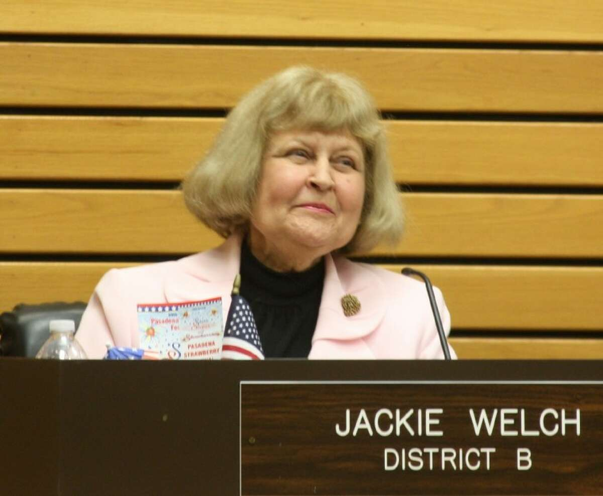 Pasadena City Councilmember Jackie Welch was recently appointed to serve on the Pasadena Second Century Corporation.