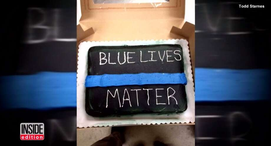 """Walmart is apologizing after claims by a Georgia customer surfaced last week saying the store's management team refused to make a """"Blue Lives Matter"""" cake multiple times."""