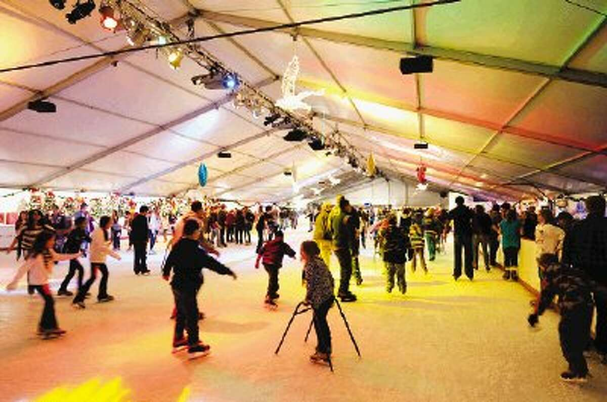The Woodlands Ice Rink will be open one more week.