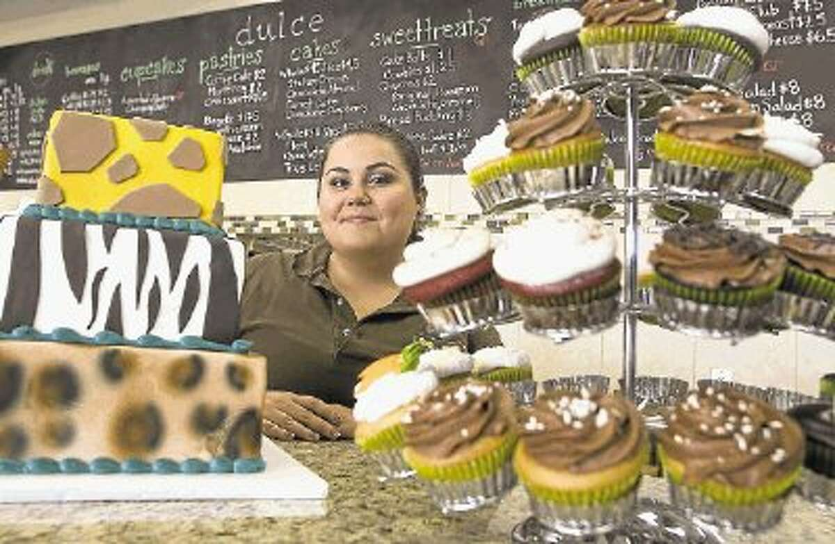 Photo by PATRIC SCHNEIDER/The RancherCristina Gutierrez initially began cake decorating after taking a class for fun with her mother at Michael's. She later attended pastry school and worked in other bakeries.