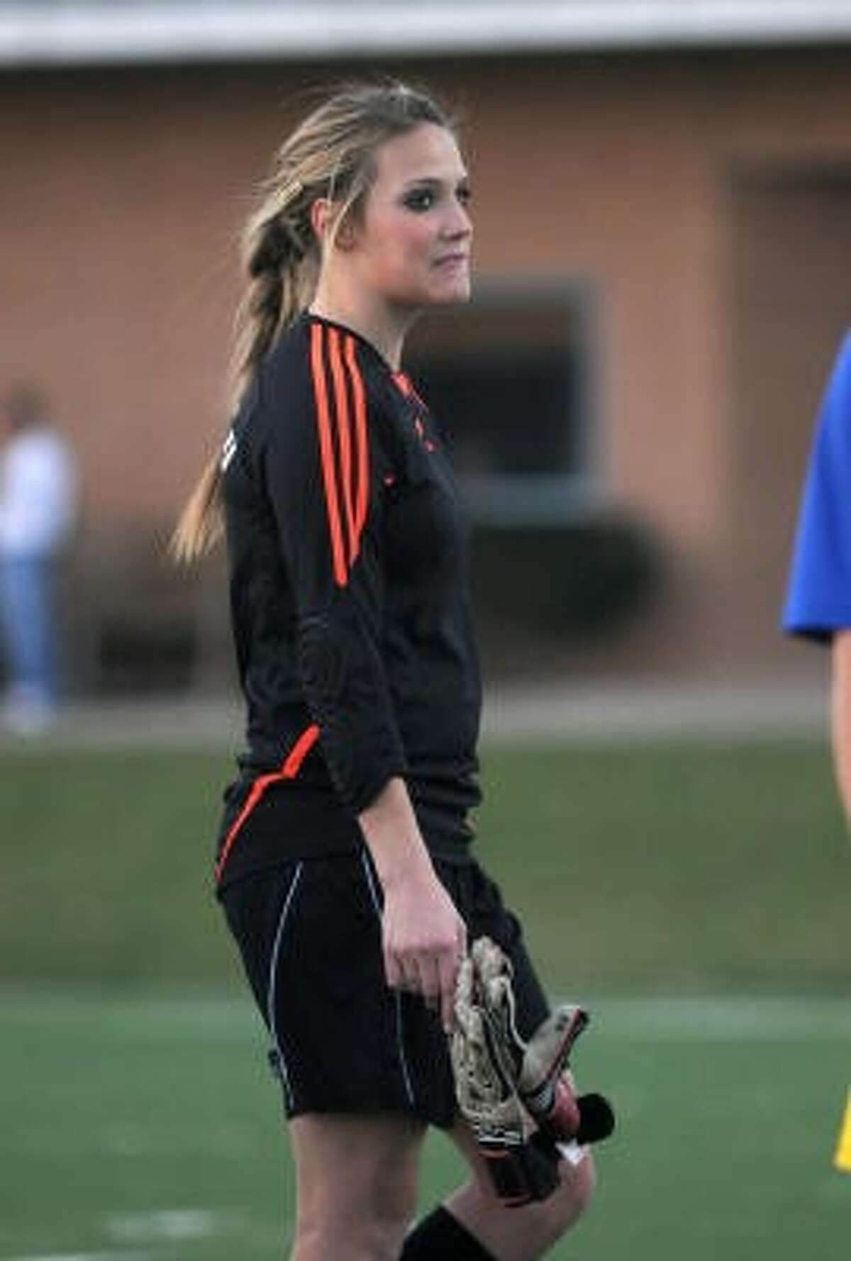 Klein High senior goalkeeper Kelly Roliard has verbally committed to the University of Arkansas.