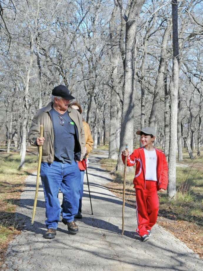 More than 1,000 people showed up across Texas as part of the First Day Hikes Program on New Year's Day to enjoy guided nature hikes at Texas State Parks. Photo: TPWD Photo By Bryan Frazier
