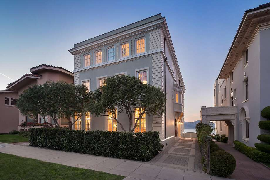 164 Sea Cliff Ave Is A Palatial Six Bedroom Mediterranean Overlooking The Pacific Ocean