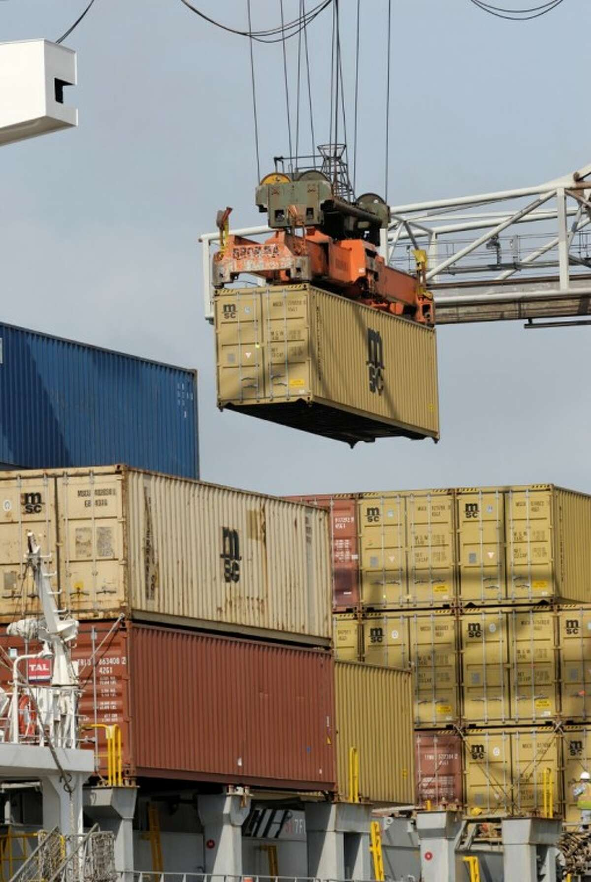 The port has already led the United States in receiving waterborne tonnage from foreign countries 14 years in a row.