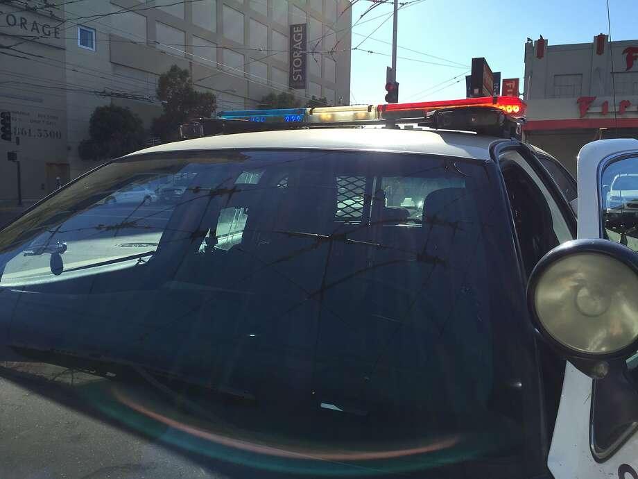 SFPD Police Car Photo: Sarah Ravani