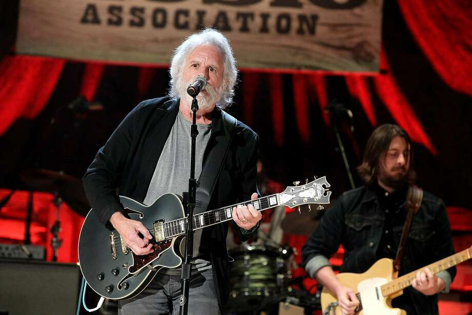 NASHVILLE, TN - SEPTEMBER 21:  Bob Weir performs onstage at the Americana Honors & Awards 2016 at Ryman Auditorium on September 21, 2016 in Nashville, Tennessee. at Ryman Auditorium on September 21, 2016 in Nashville, Tennessee.  (Photo by Terry Wyatt/Getty Images for Americana Music) Photo: Terry Wyatt, Getty Images For Americana Music