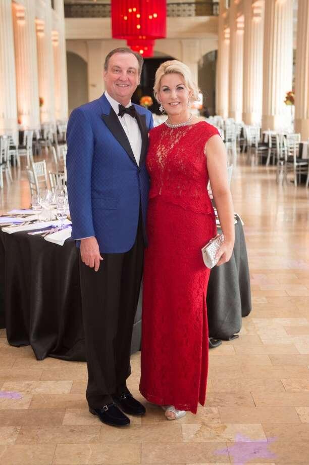 Houston Symphony Opening Night Chairman Ralph Burch and Stephanie von Stein Photo: Wilson Parish, Wilson Parish Photography