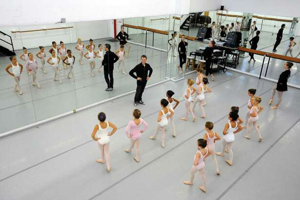Girls audition for the Connecticut Ballet's upcoming production of The Nutcracker inside the Connecticut Ballet Center in Stamford, Conn. on Sunday, Sept. 25, 2016. The Nutcracker premieres at The Palace in downtown Stamford on December 17.