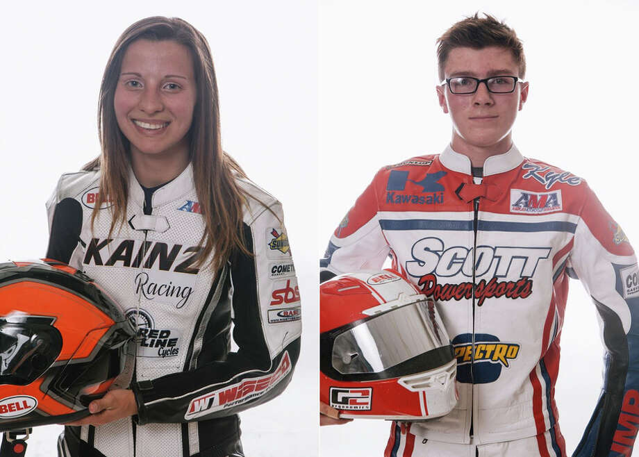 Charlotte Kainz, 20, and Kyle McGrane, 17, were killed during separate motorcycle races at the Sonoma County Fairgrounds. Photo: AMA Pro Racing / AMA Pro Racing
