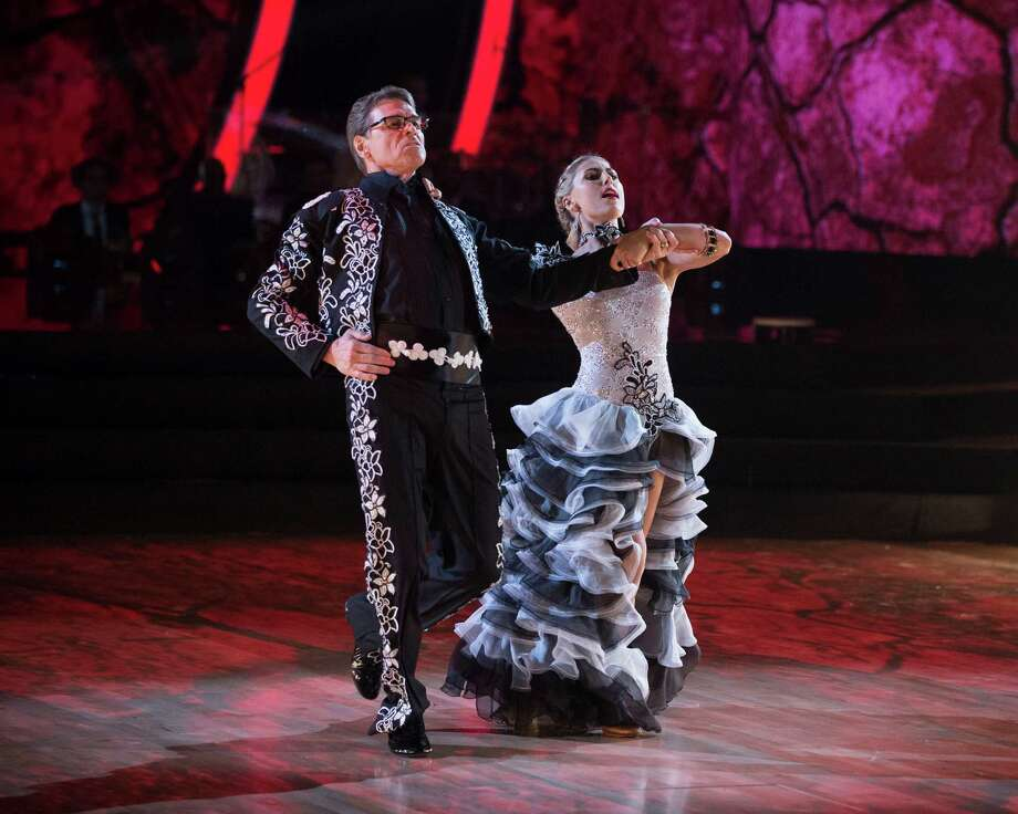 rick perry at the bottom again on dancing with the stars houston