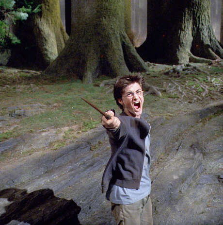 Harry Potter (Daniel Radcliffe) unleashes a Patronus Charm. Photo: AP / WARNER BROS