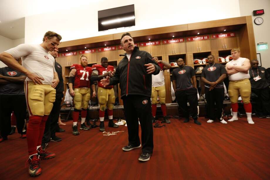 1. Last year, then coach Jim Tomsula was slow to replace an ineffective Kaepernick with Blaine Gabbert. By the time he did so, the season was lost. This season is probably lost also, but at least Chip Kelly is making an attempt to salvage something before the midway point. Photo: Michael Zagaris, Getty Images