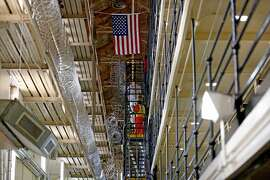 East Block at San Quentin State Prison, San Quentin, Calif., on Aug. 16, 2016. San Quentin opened in July 1852. It is the oldest prison in California. (Gary Coronado/Los Angeles Times/TNS)