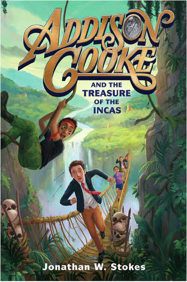 Hollywood screenwriter and Weston native, Jonathan Stokes, is set to release his debut novel, Addison Cooke and the Treasure of the Incas, Oct. 11. He will be in Westport for a reading and signing at the Westport Barnes & Noble at 7 p.m. on Oct. 17. Photo: Contributed, Contributed Photo / Westport News