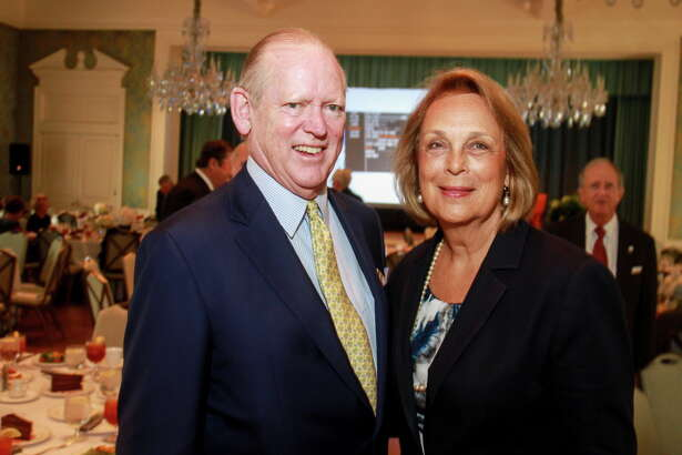 Jack and Ellie Sweeney at the annual luncheon for the Harris County Protective Services for Children and Adults.  (For the Chronicle/Gary Fountain, September 27, 2016)