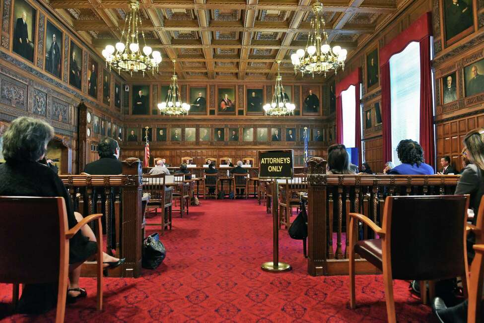 The NYS Court of Appeals hosts a statewide public hearing to evaluate the continuing unmet civil legal services needs in New York in the Tuesday Sept. 27, 2016 in Albany, NY. (John Carl D'Annibale / Times Union)
