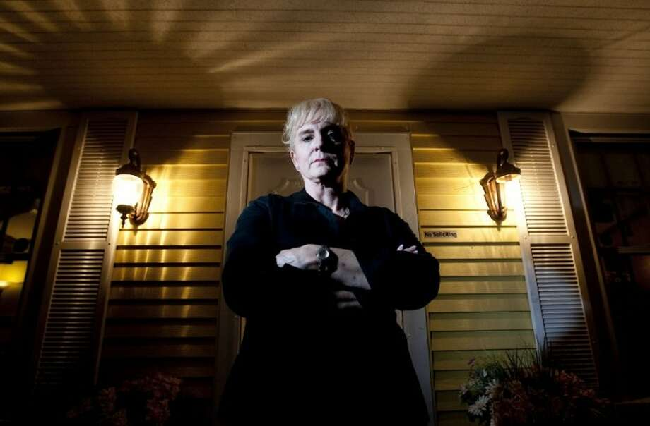Cindy Love, co-owner of the Montgomery County Grille in Magnolia, believes her restaurant is haunted. Photo: Karl Anderson