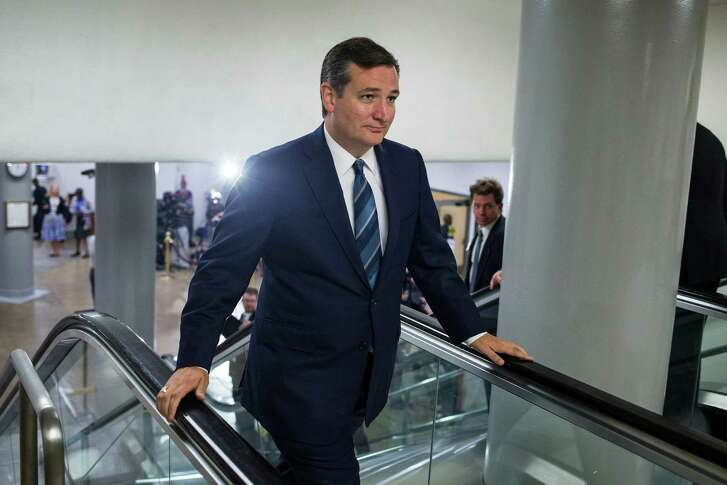Sen. Ted Cruz, R-Texas, heads to the Senate floor for a vote on Capitol Hill in Washington, Sept. 27, 2016. (Al Drago/The New York Times)
