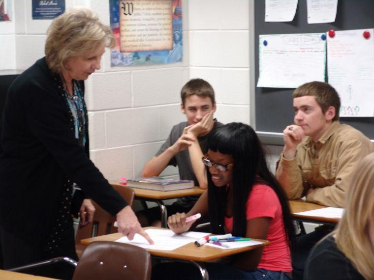 Clear Brook High teacher is judged one