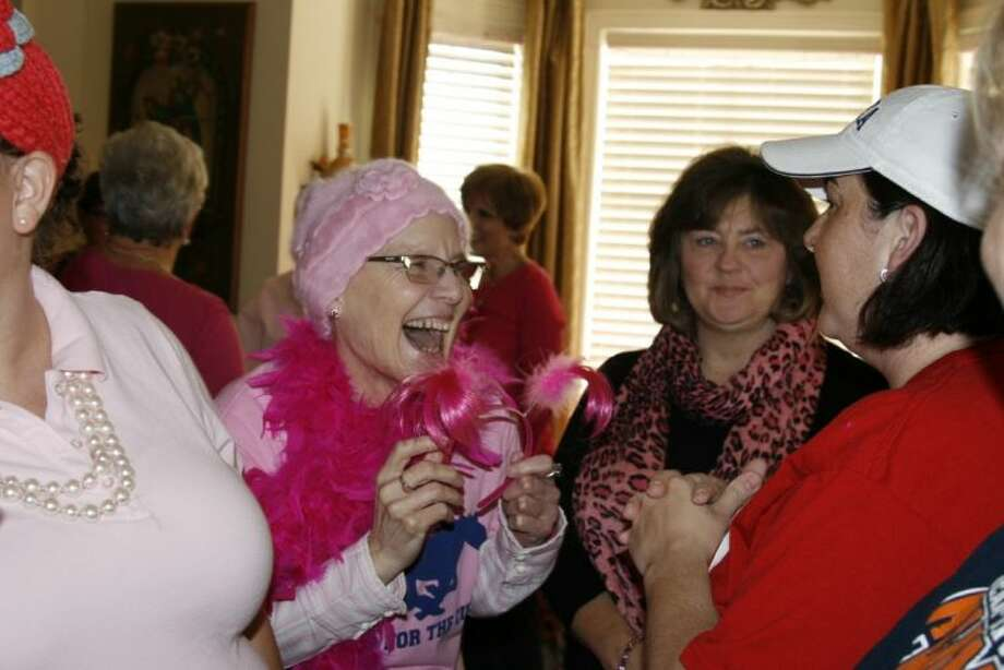 Jane Murray was surprised by friends and family at a pink party in her honor Jan. 20.