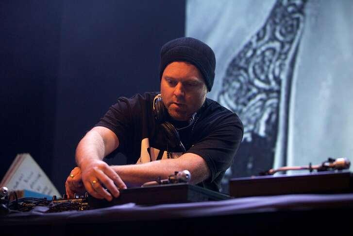 DJ Shadow in concert at the HMV Forum on Feb. 4, 2015 in London. (Stephanie Paschal/Rex Shutterstock/Zuma Press/TNS)