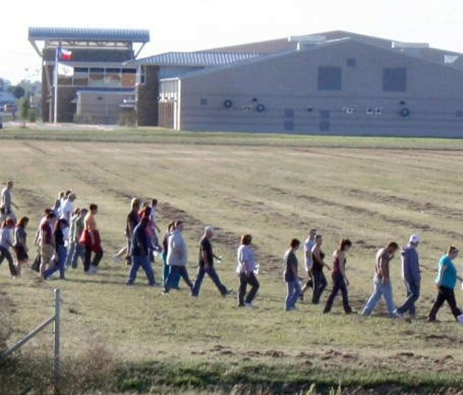 Hundreds of volunteers were called in to assist in the search for 18 year-old Joshua Wilkerson after he disappeared Nov. 16, 2010. Photo: KRISTI NIX
