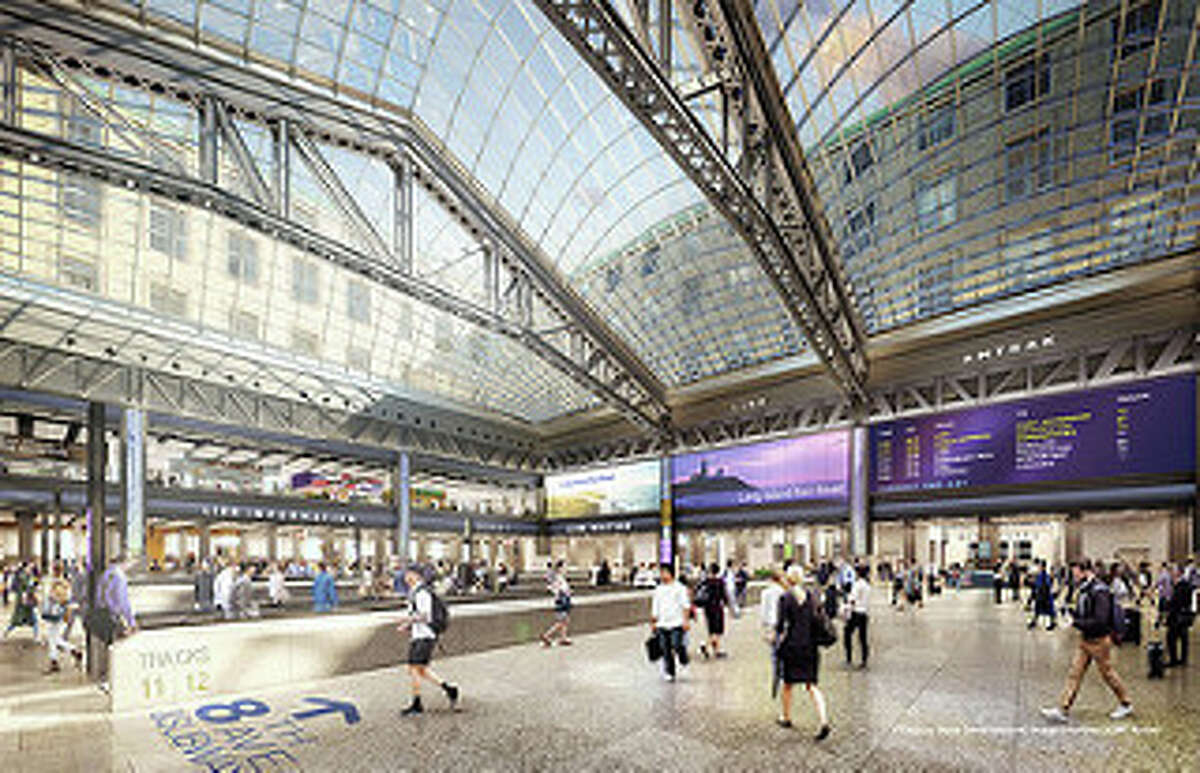 Courtesy governor's office New Moynihan Train Hall Housing Both Amtrak and LIRR Ticketing and Waiting Areas, Plus 112,000 Square Feet of Retail