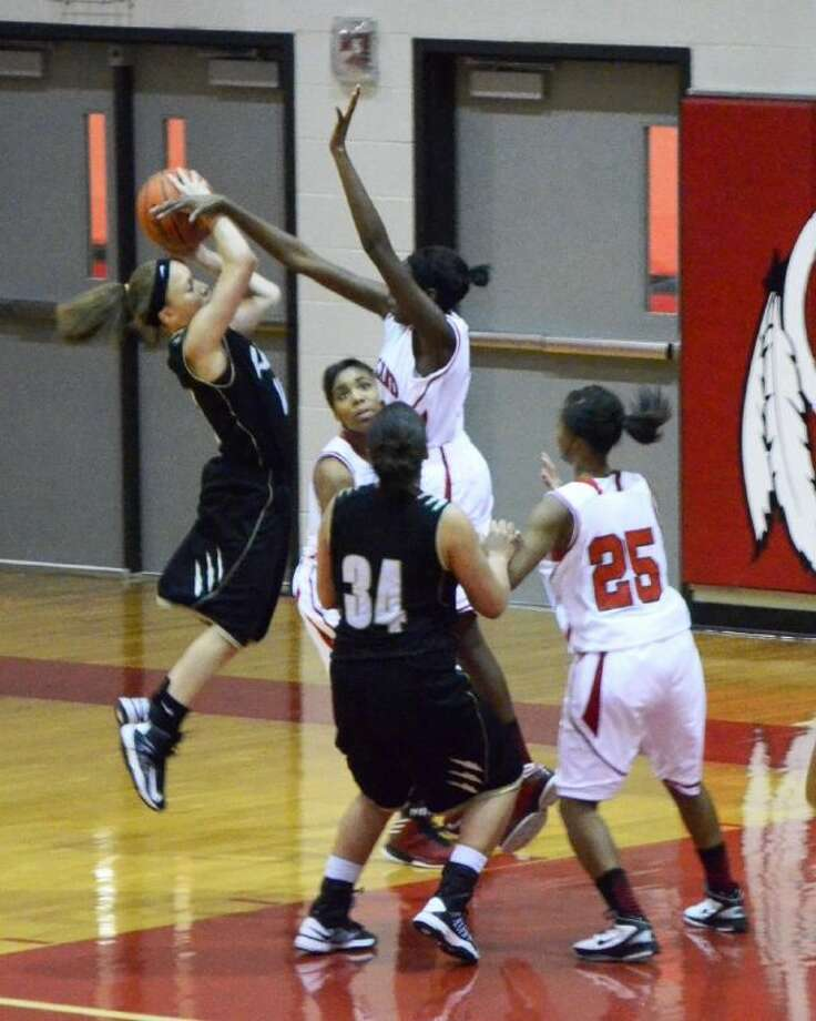 The Lady Indians won a game Friday against the Lady Panthers in overtime with a final score of 29-26.