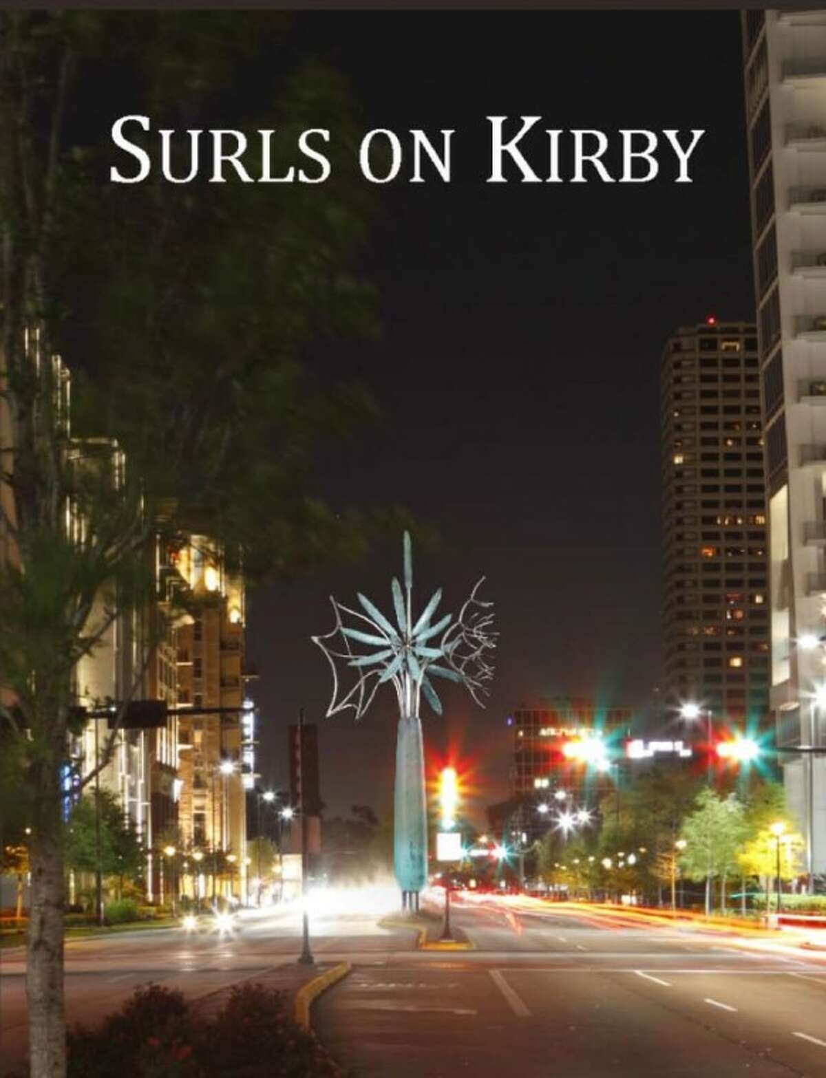 """The 26' high """"Surls on Kirby"""" sculpture will illuminate the sky and be visible from US 59. The iconic sculpture will create a focal point for Upper Kirby District's """"main street""""-Kirby Drive. (Photo submitted by Upper Kirby Management District)"""