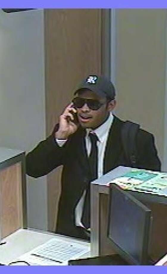 Authorities said it was Copeland who robbed this Comerica bank branch in the West University area last week.