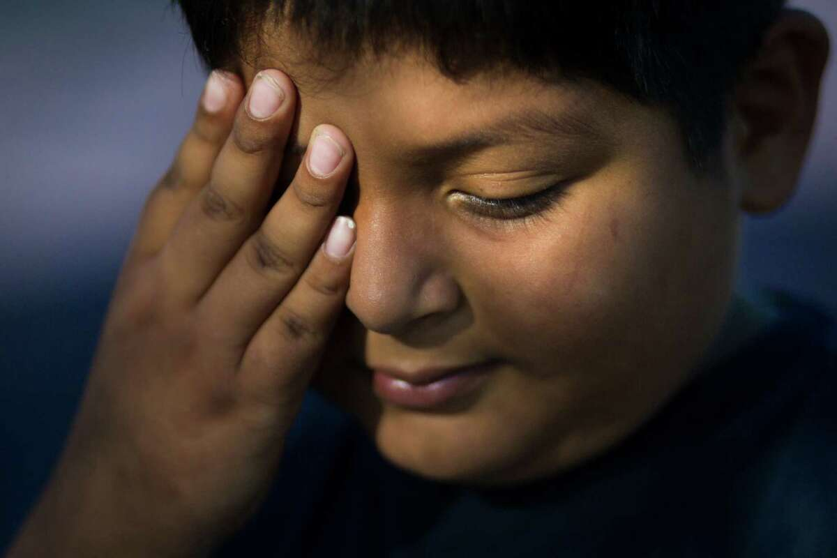 Alex Ragel, 9, is legally blind and has learning disabilities that caused him to struggle at his San Antonio ISD school. Despite his mother's attempts, administrators refused for months to even evaluate Alex for special ed, saying they first needed to try a different set of teaching techniques.
