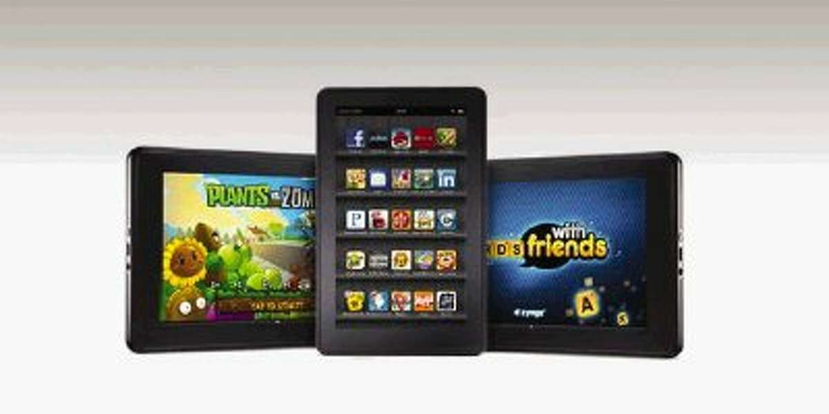 Many e-readers can also be used to play games and access the Internet.