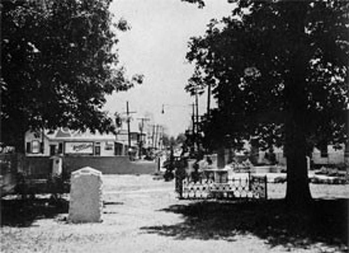 Founders Cemetery, c. 1940 (Photo submitted by GHPA)