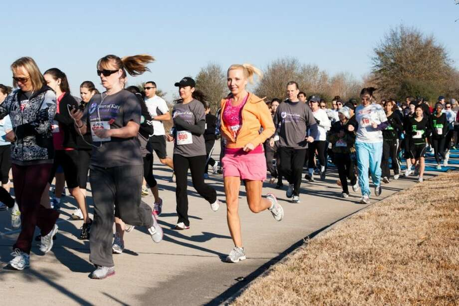 Photo by J.W. Purdy/SubmittedAll money raised from the annual Heart of Katy Fun Run/Walk supports Christus St. Catherine Hospital's comprehensive heart program. Photo: JW Purdy