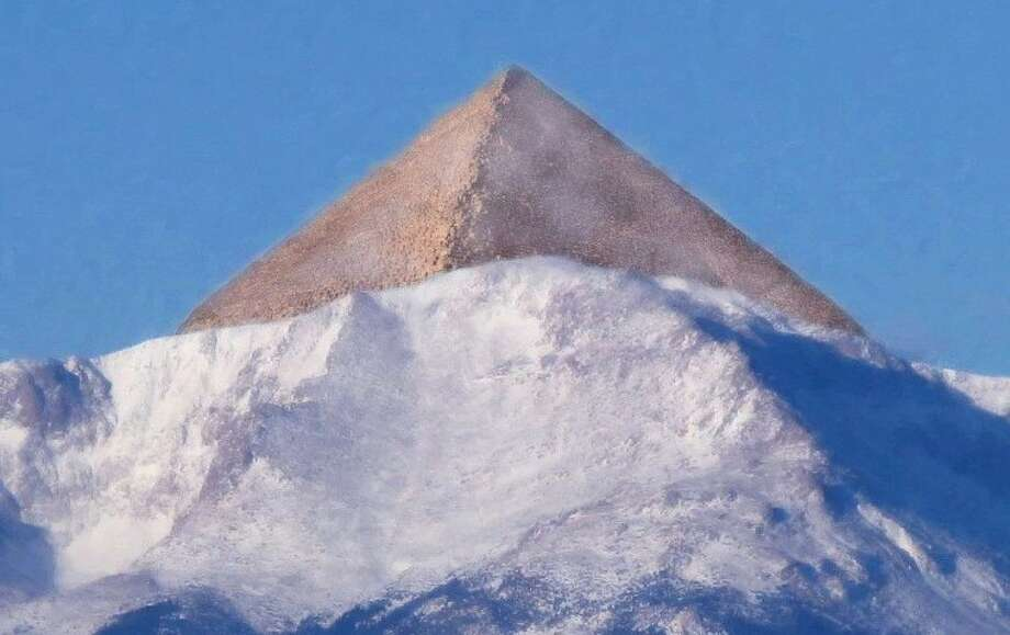 A Rocky Mountain hybrid of a pyramid.