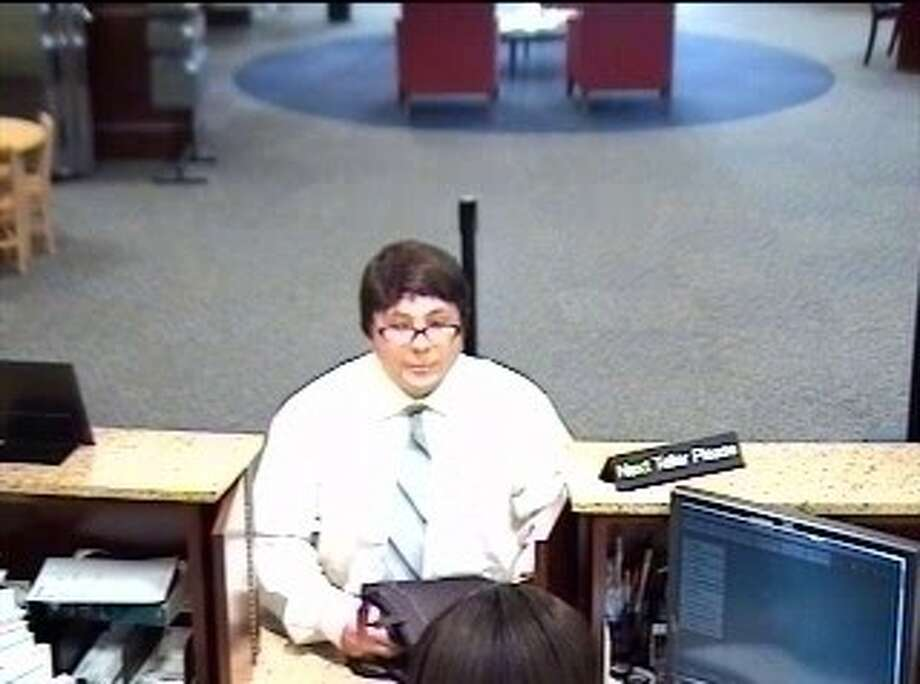 The FBI says this man they've dubbed the 'Bad Wig Bandit' struck again Thursday.