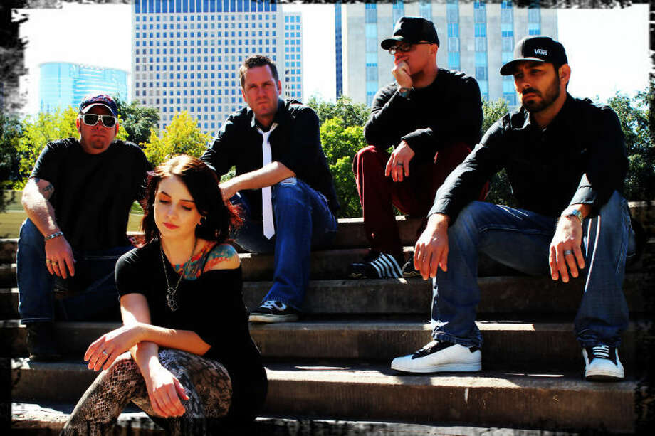 Brothers Grymn in 2012: Band members are, from left, guitarist Nate Schmidt, bassist Carol Cabrero, drummer Clint Simmons, songwriter and vocalist Jeff Miller and DJ Gabe Sandoval.