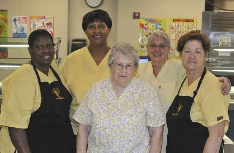 San Jacinto School Food Service staff Photo: SUBMITTED PHOTO
