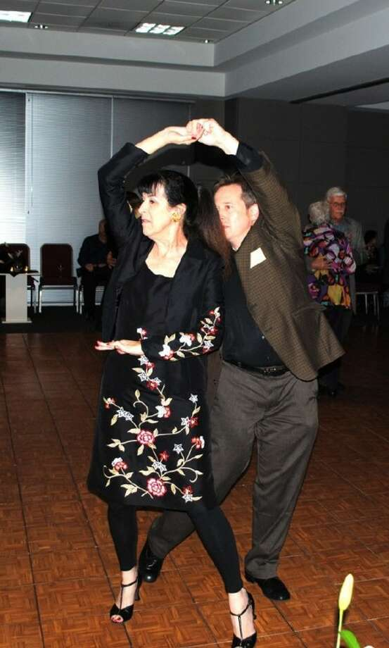 David and Gail Jircik, of Friendswood, twirl to the music during the Alvin Community College Big Band concert on February 4. The concert helps raise funds for the ACC Music Department and alumni scholarships. Photo: ACC