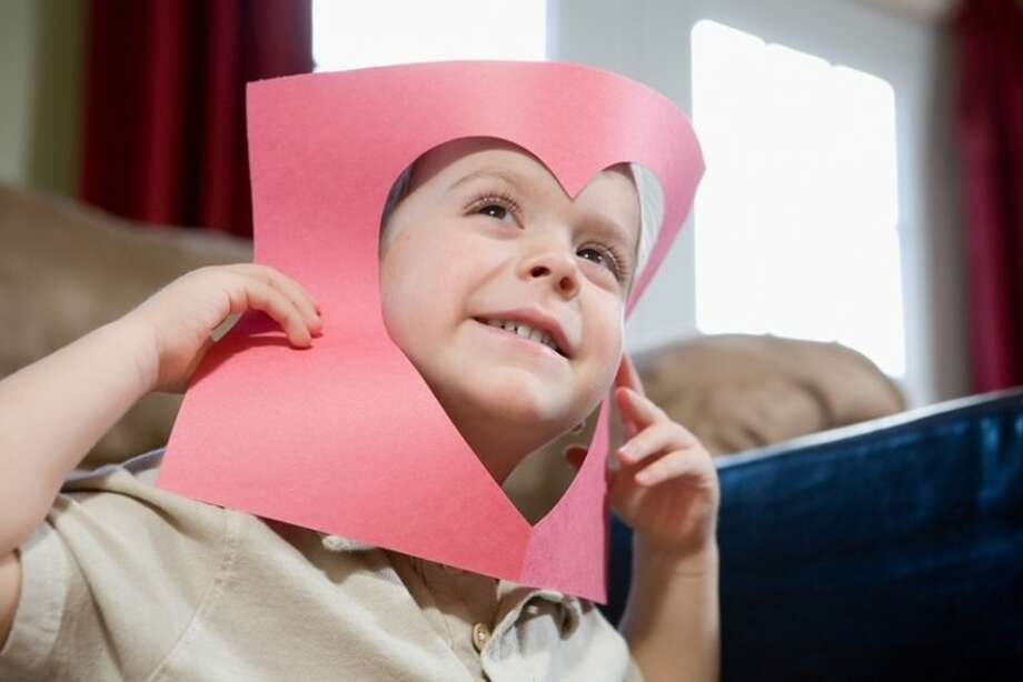 A few simple crafts and games at home can make Valentine's Day all the more fun and special for children.