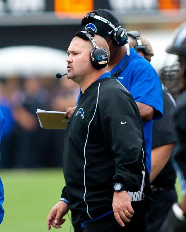Clear Springs head football coach Clint Hartman has accepted the athletic director and head coaching job at East Central High School in San Antonio. Photo: KIRK SIDES