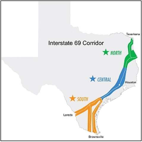 Map Of Interstate 69 In Texas.Governor Perry State Legislators Transportation Officials Discuss