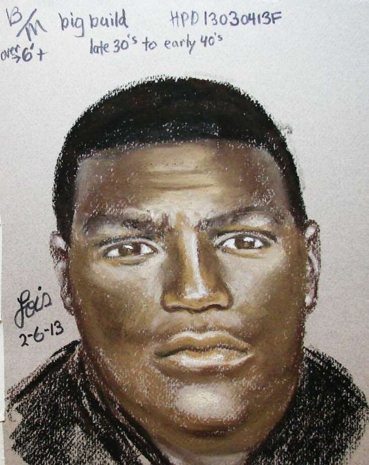 The Houston Police Department released a sketch of the sexual assault suspect.